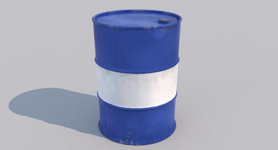 Barrel 3D Model royalty-free 3d model - Preview no. 3