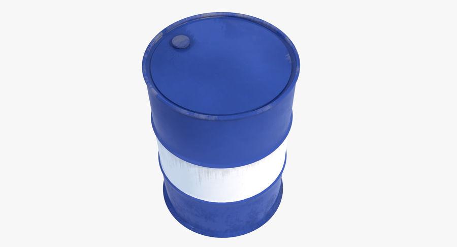 Barrel 3D Model royalty-free 3d model - Preview no. 6
