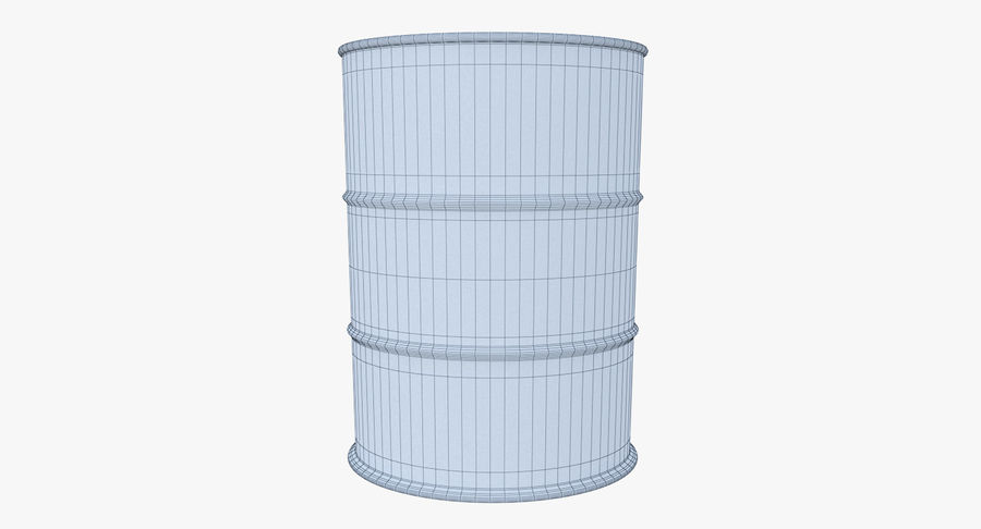 Barrel 3D Model royalty-free 3d model - Preview no. 9