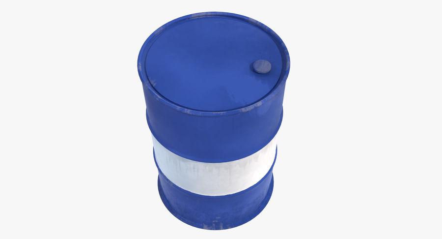 Barrel 3D Model royalty-free 3d model - Preview no. 5