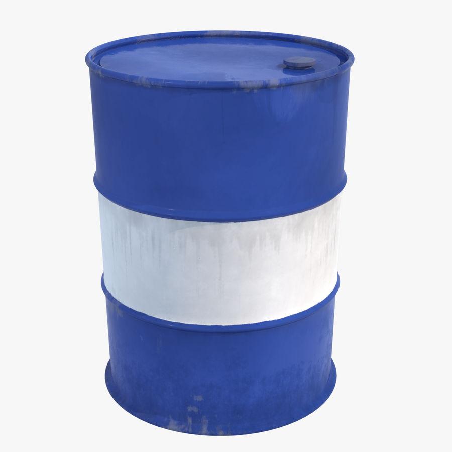 Barrel 3D Model royalty-free 3d model - Preview no. 1