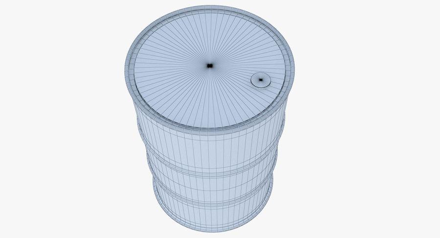 Barrel 3D Model royalty-free 3d model - Preview no. 11
