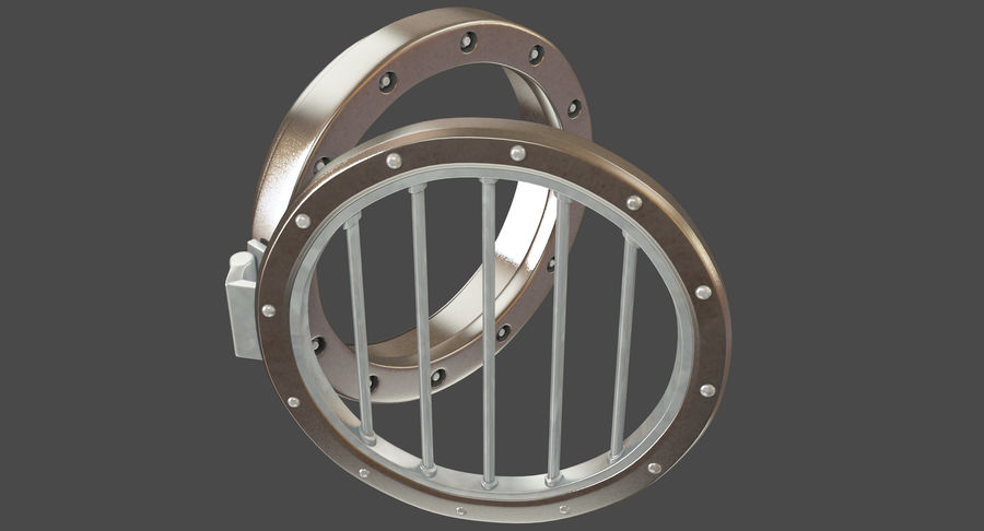 Air Vent royalty-free 3d model - Preview no. 3