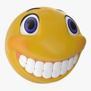 Smiley Face 3D Model 3d model