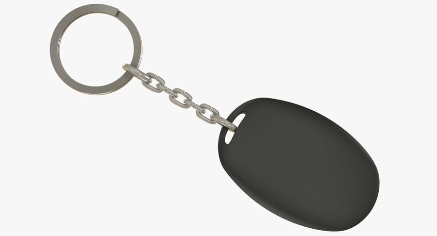 Car Keychain Alarm royalty-free 3d model - Preview no. 10