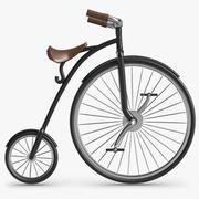 Retro Bicycle 3d model