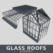 Glass Roofs 3d model