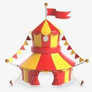 Цирк 3d model