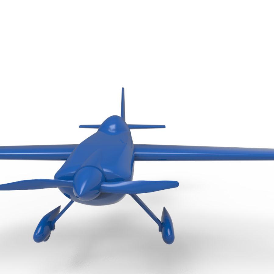 Samolot 3D royalty-free 3d model - Preview no. 4