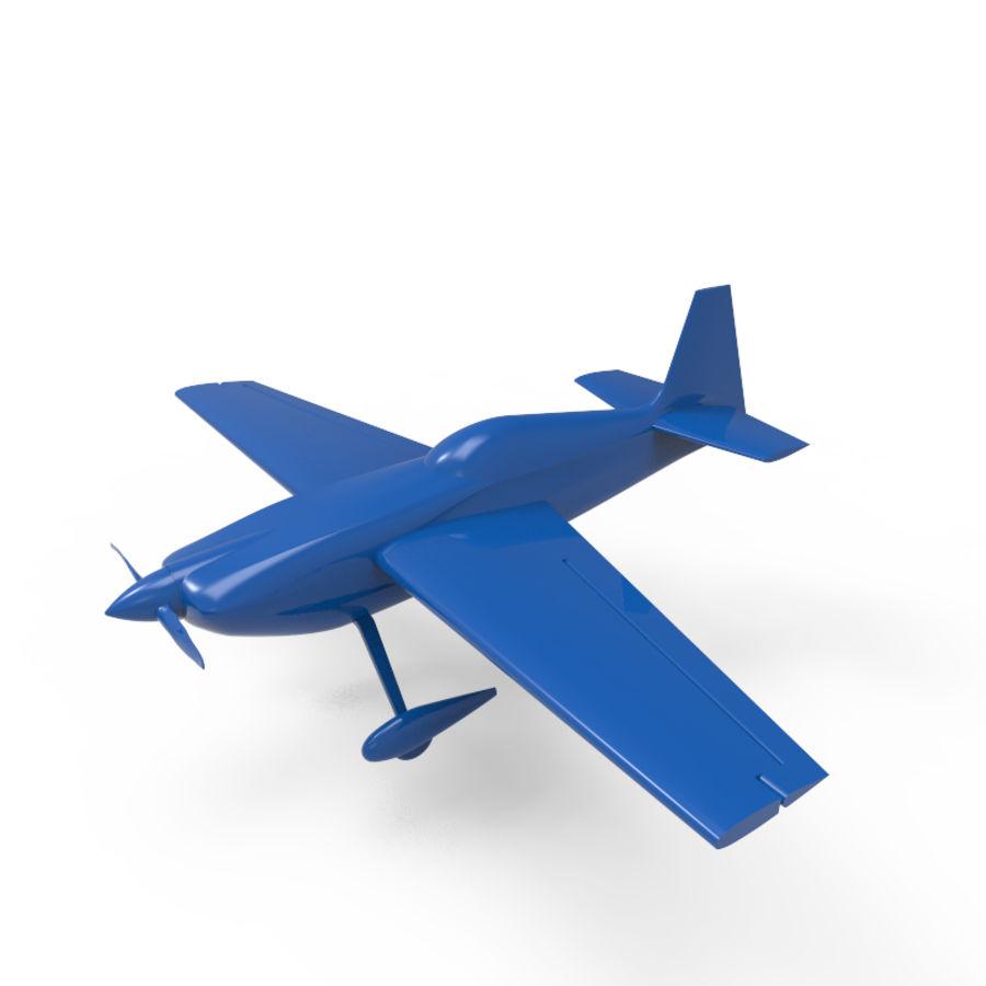 Samolot 3D royalty-free 3d model - Preview no. 1