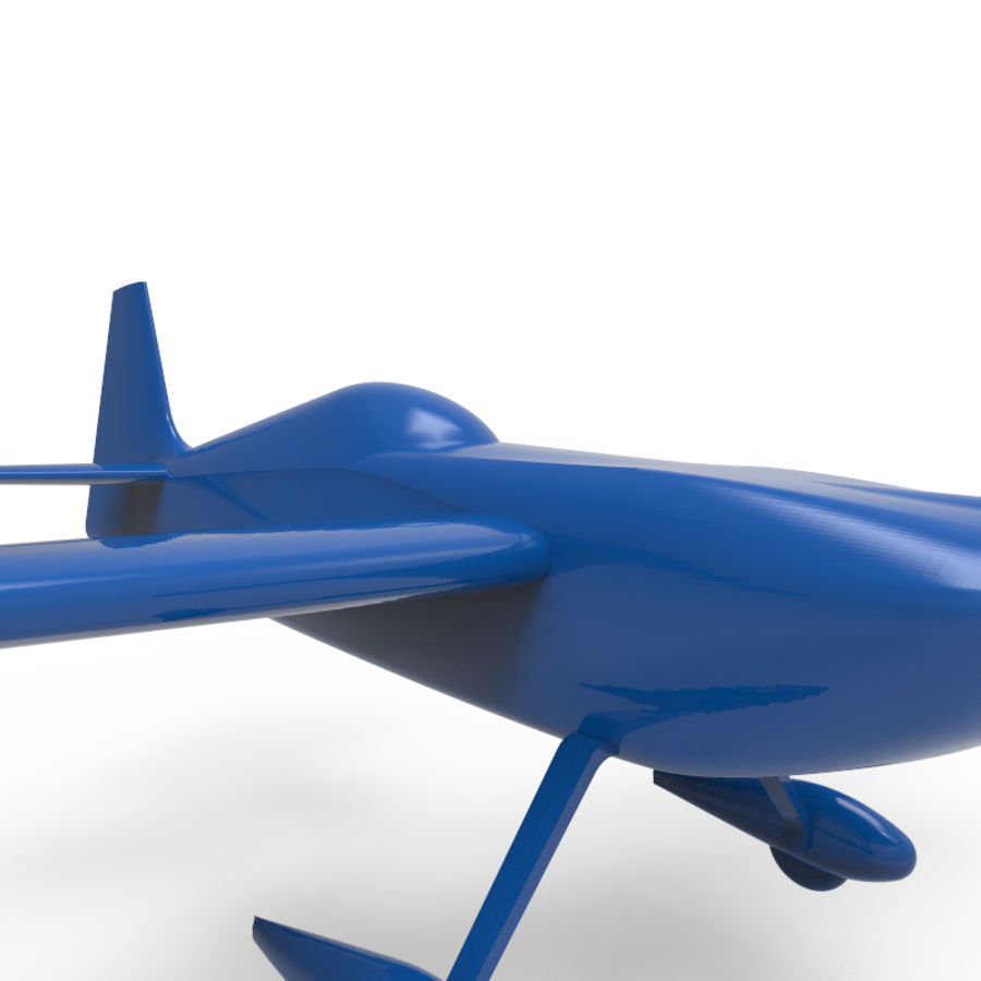 Samolot 3D royalty-free 3d model - Preview no. 3