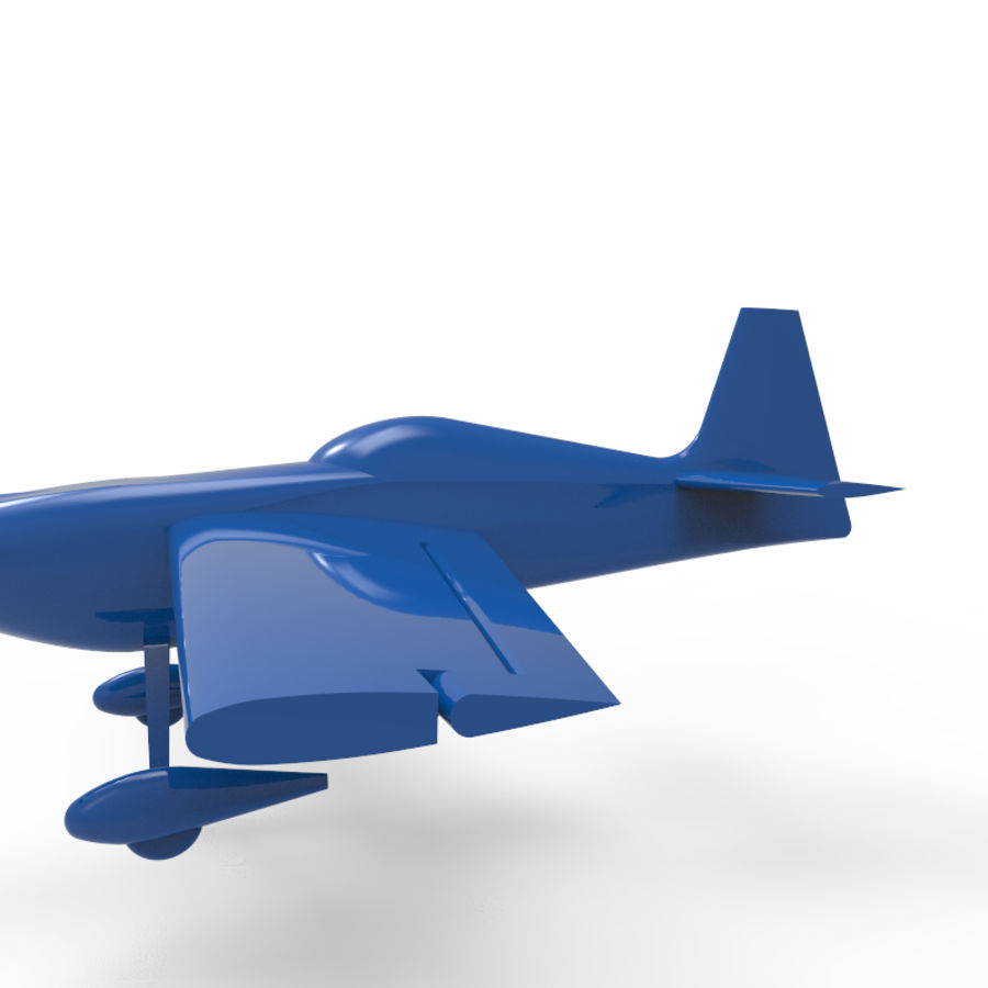 Samolot 3D royalty-free 3d model - Preview no. 5