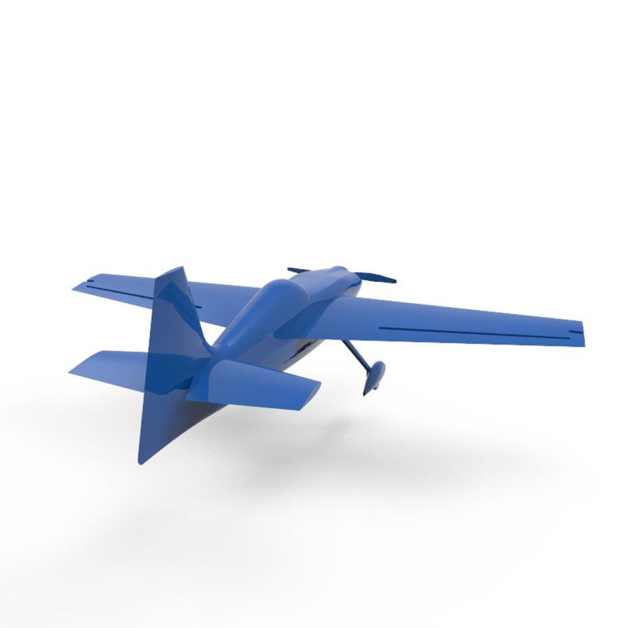 Samolot 3D royalty-free 3d model - Preview no. 2