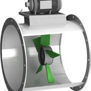 Eksenel Fan Egzozu 3d model