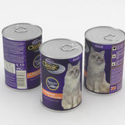 Butchers Classic Cat Food Can 400g 3d model