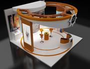 Stoisko targowe stoisko (1) (3) 3d model