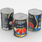 Lattina Alimenti Pomodoro Cirio Pelati Pomodoro 400g 3d model