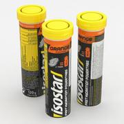 Isostar Sport Drink Pomarańczowe tabletki 120g 3d model
