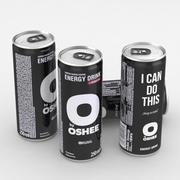 Napój energetyczny Oshee Drink energetyczny 250 ml 3d model