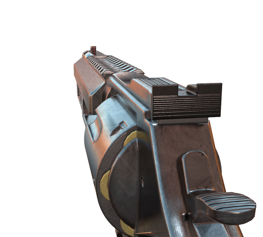 357 Magnum royalty-free modelo 3d - Preview no. 5