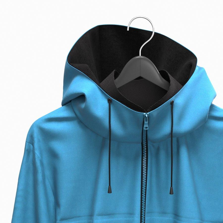 Куртка Спорт royalty-free 3d model - Preview no. 11