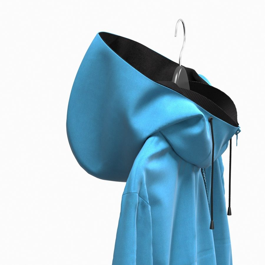 Куртка Спорт royalty-free 3d model - Preview no. 12