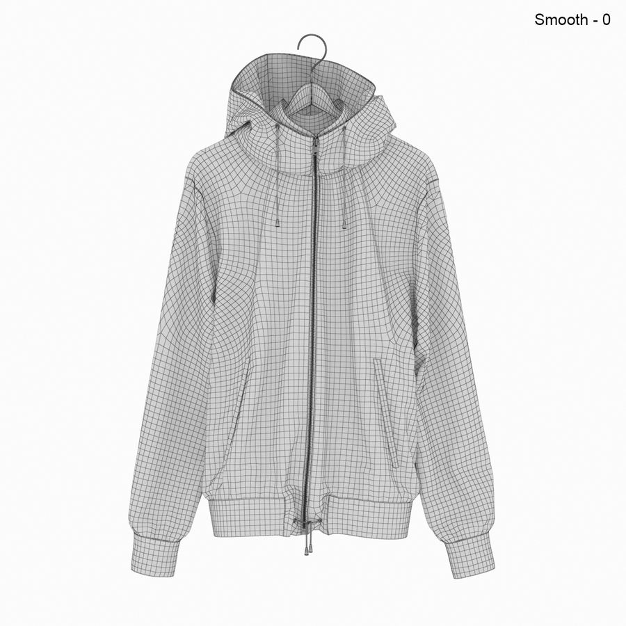 Куртка Спорт royalty-free 3d model - Preview no. 18