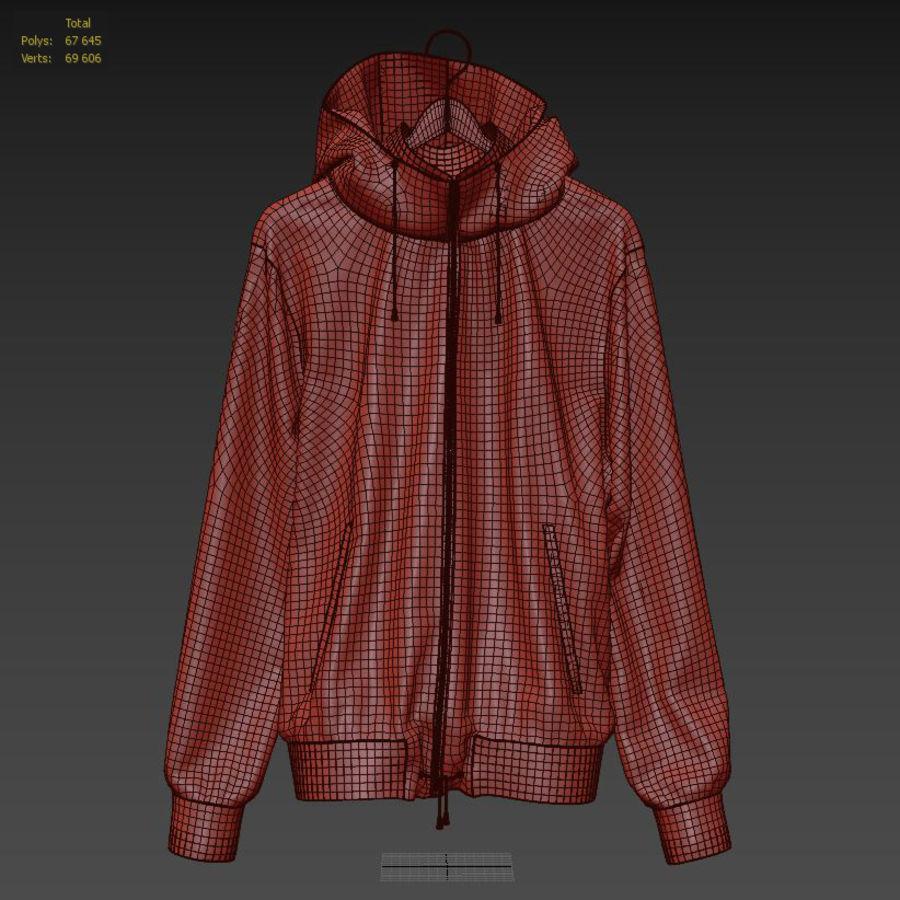 Куртка Спорт royalty-free 3d model - Preview no. 30