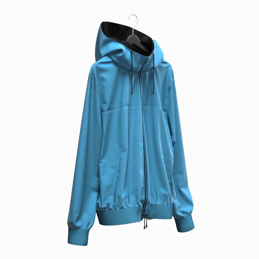 Куртка Спорт royalty-free 3d model - Preview no. 2