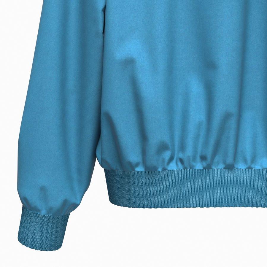 Куртка Спорт royalty-free 3d model - Preview no. 16