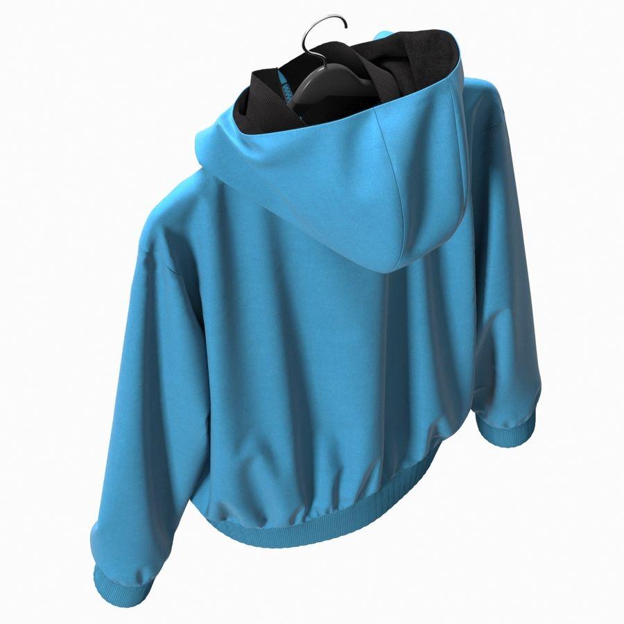Куртка Спорт royalty-free 3d model - Preview no. 17