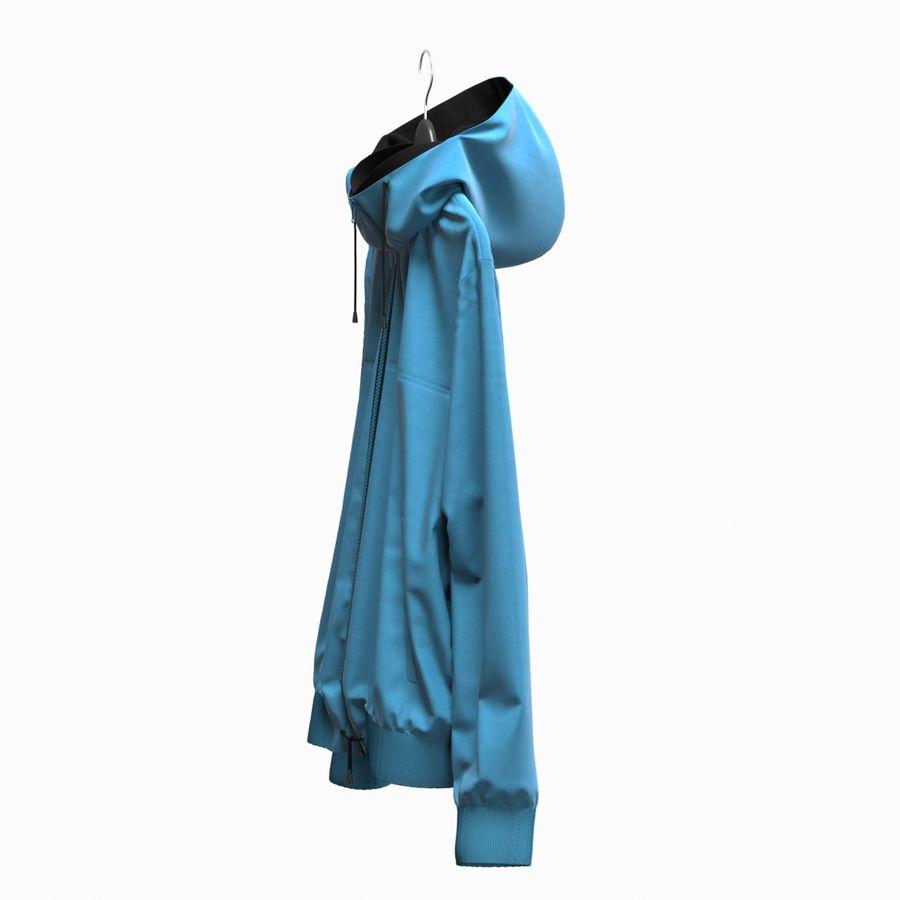 Куртка Спорт royalty-free 3d model - Preview no. 9