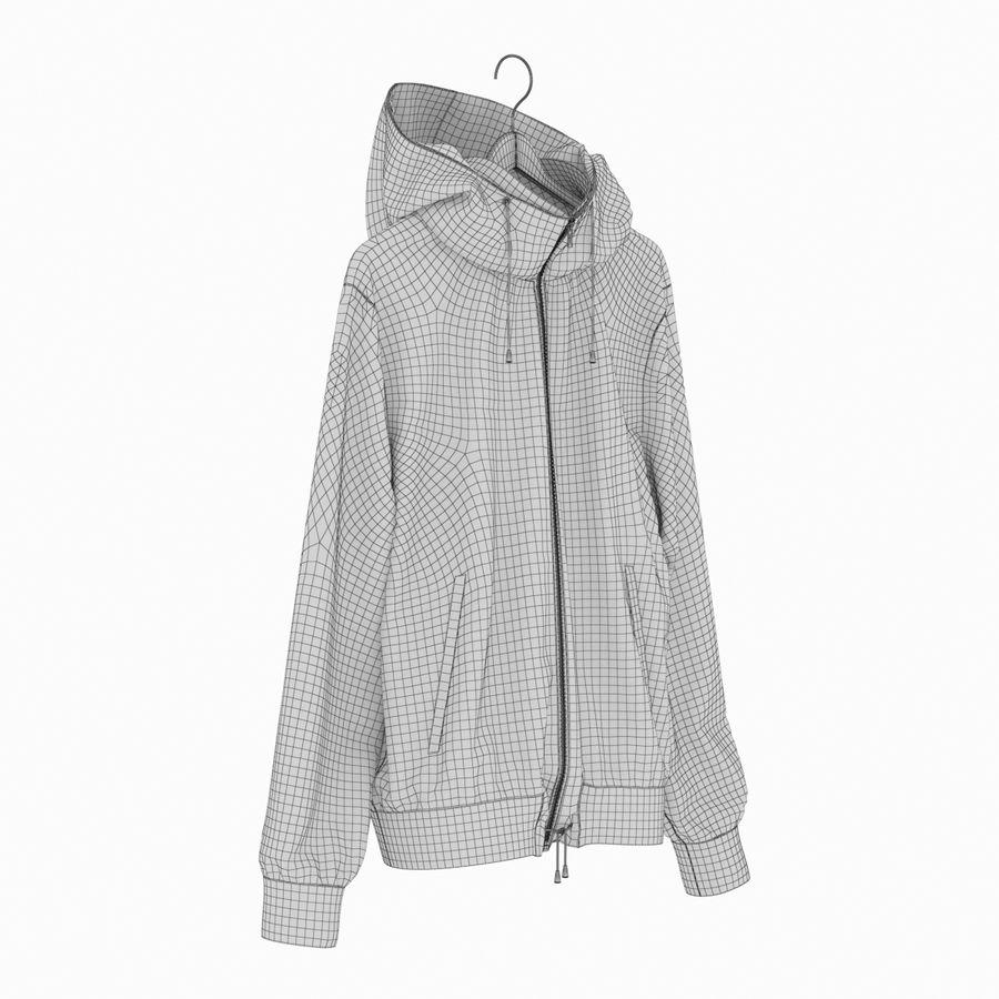 Куртка Спорт royalty-free 3d model - Preview no. 19