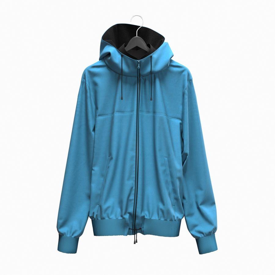 Куртка Спорт royalty-free 3d model - Preview no. 1