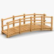 Ponte di legno v2 3d model