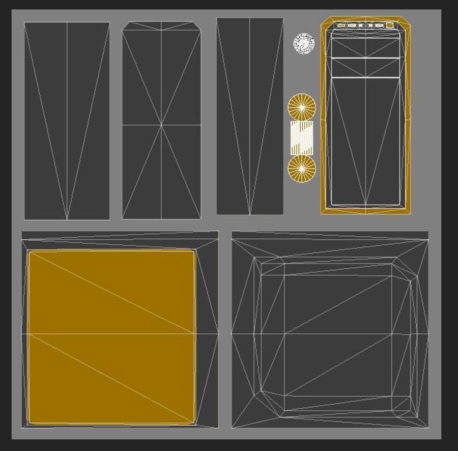 Desktop Computer royalty-free 3d model - Preview no. 4