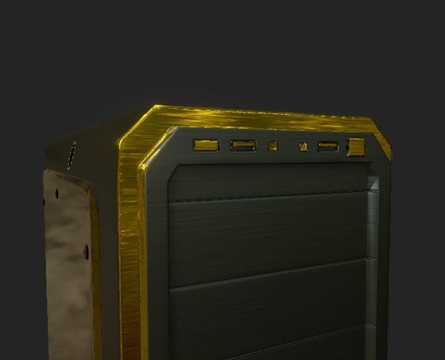 Desktop Computer royalty-free 3d model - Preview no. 6