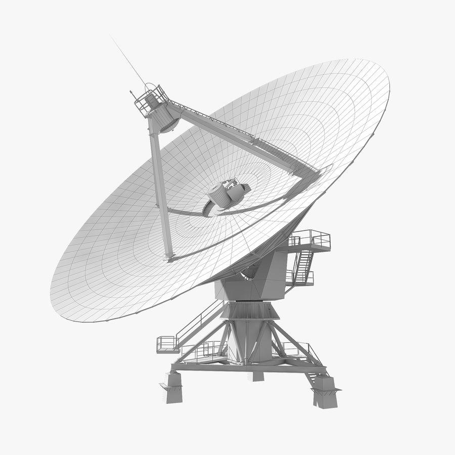 Antena parabólica royalty-free modelo 3d - Preview no. 12