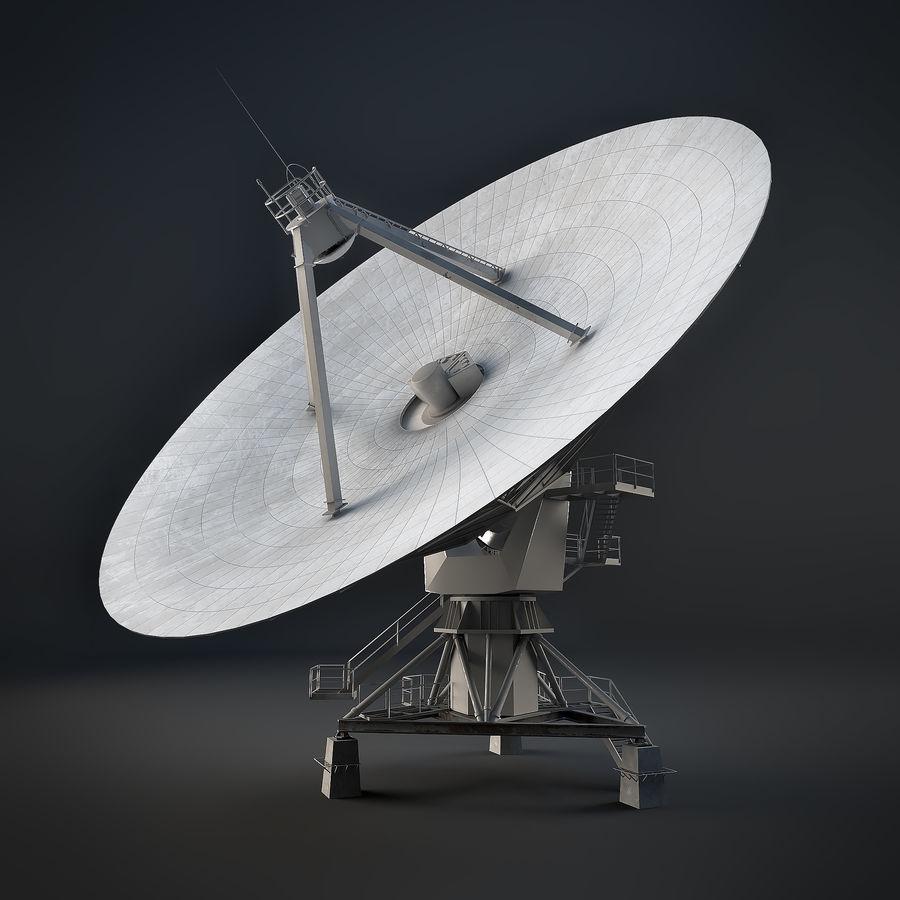 Antena parabólica royalty-free modelo 3d - Preview no. 3