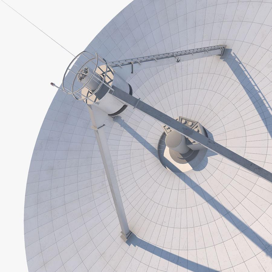 Antena parabólica royalty-free modelo 3d - Preview no. 9