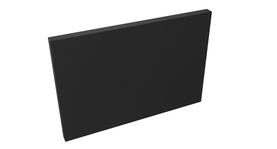 Vluchtinformatiebord royalty-free 3d model - Preview no. 5