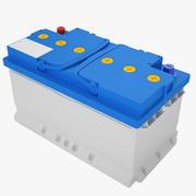 Bilbatteri 03 3d model