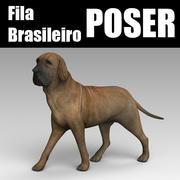 필라 브라질로 세 잘난 척 3d model