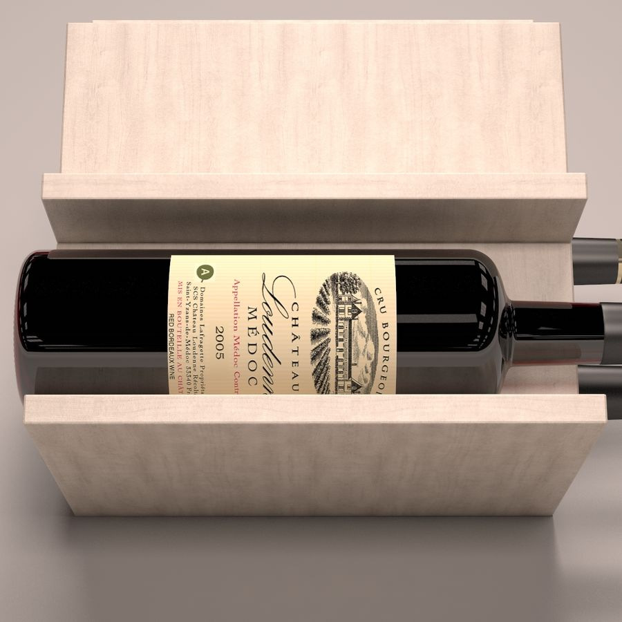 Scaffale per vino royalty-free 3d model - Preview no. 4