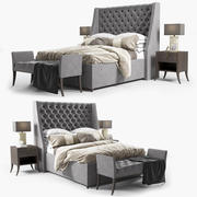 Elgar Bed by Sofa&Chair company 3d model