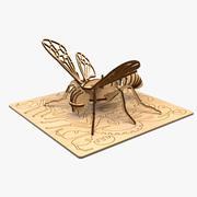 蜜蜂激光切割 3d model