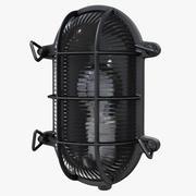 Переборка Светло-черный 3d model