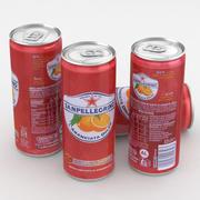 Beverage San Pellegrino Aranciata Dolce 330ml Tall 3d model