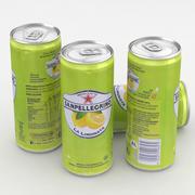 Getränk San Pellegrino Limonata 330ml groß 3d model