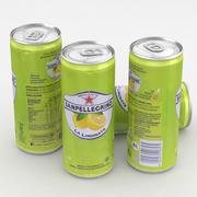 Beverage San Pellegrino Limonata 330ml Tall 3d model